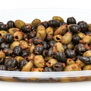 Mix di olive piccanti senza osso